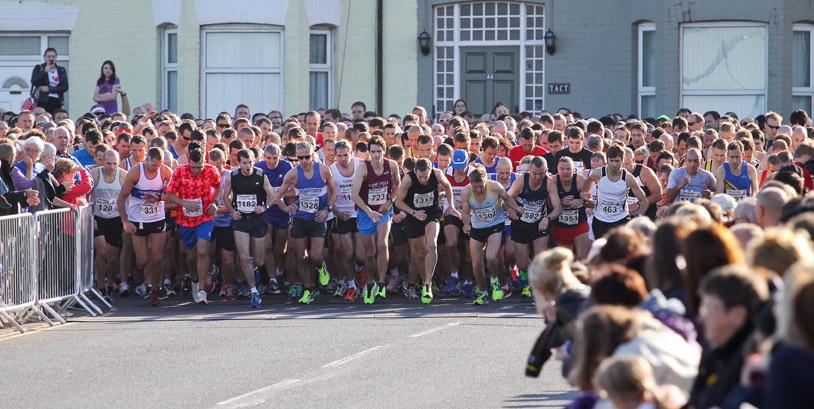 redcar half marathon 2013 start